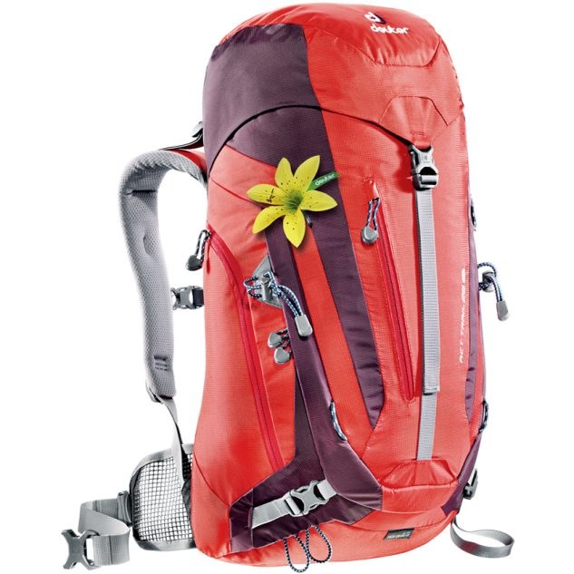 Deuter ACT Trail 28 SL fire-aubergine (piros-lila)