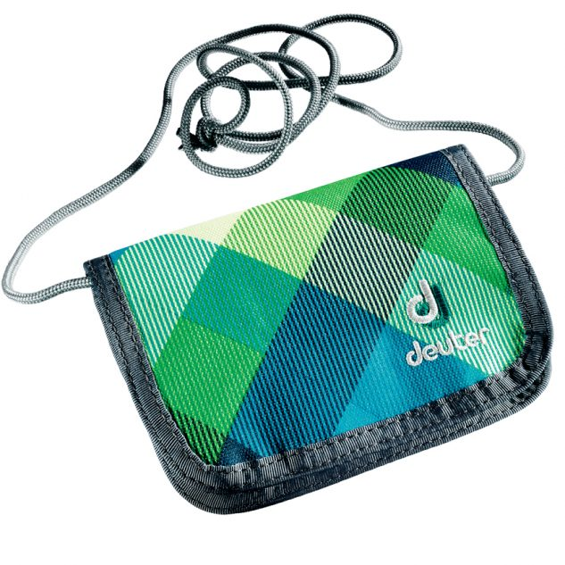 Deuter Chest Wallet petrol-crosscheck