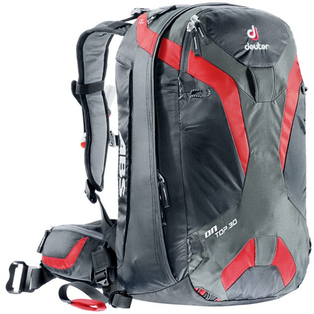 Deuter OnTop ABS 30 black-fire (fekete-piros)