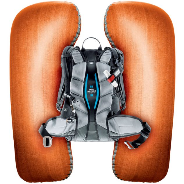 A beépített ABS dupla légzsákok 170 literre fújódnak fel másodpercek alatt