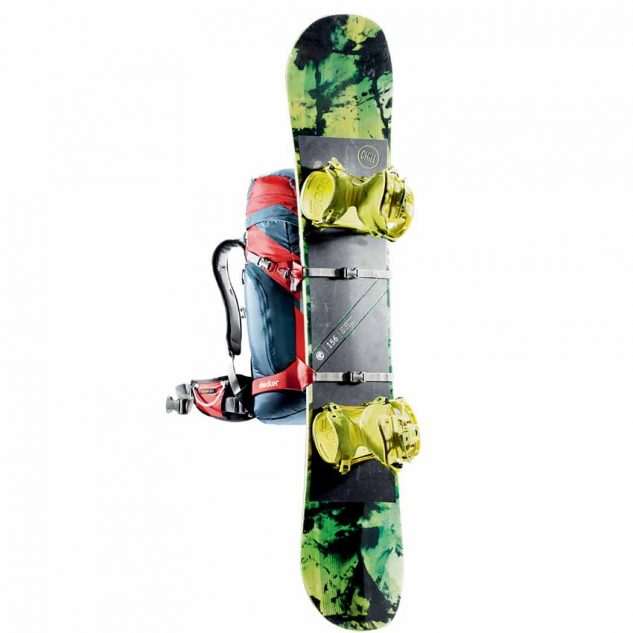 Speciális kompressziós hevederek hótalp, síléc, snowboard rögzítésére