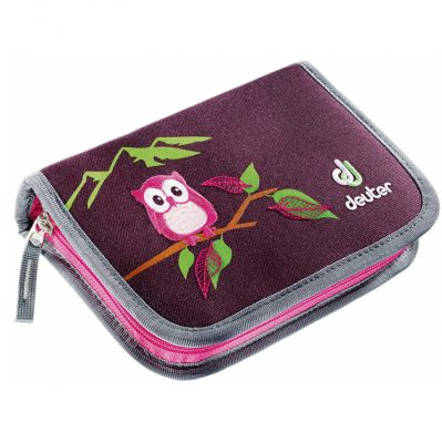 Deuter Pencil Box aubergine-magneta