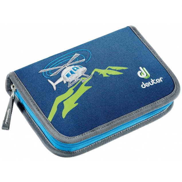 Deuter Pencil Box steel-helicopter