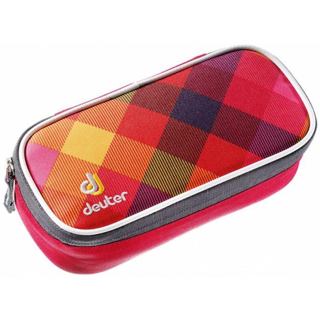 Deuter Pencil Case berry-crosscheck