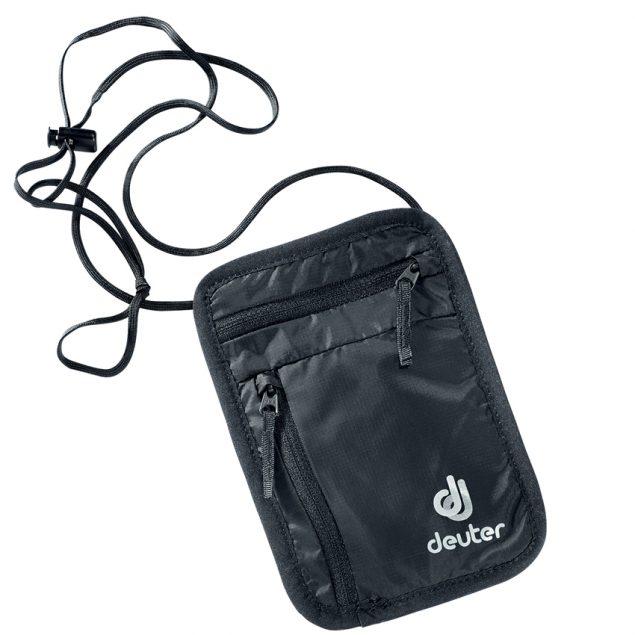 Deuter Security Wallet I black (fekete)