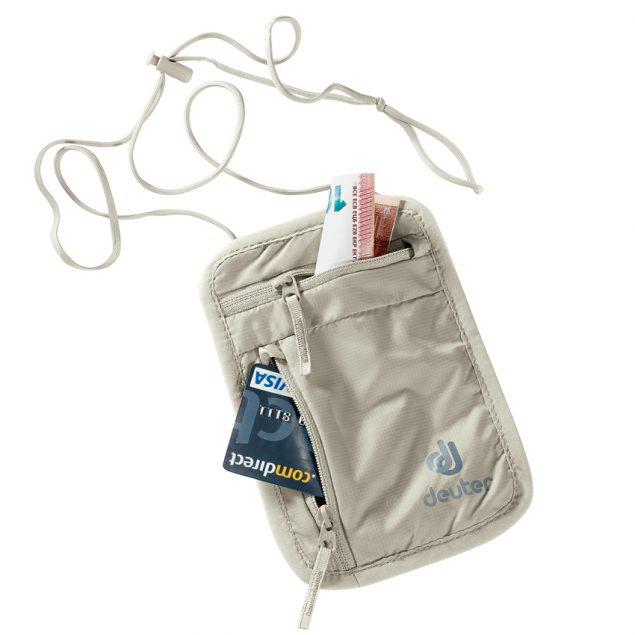 Deuter Security Wallet I sand (bézs)