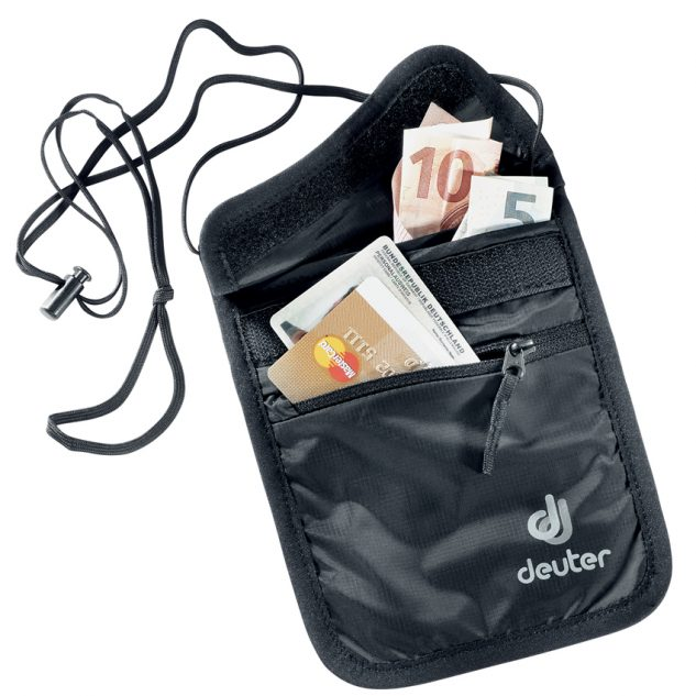 Deuter Security Wallet II black (fekete)