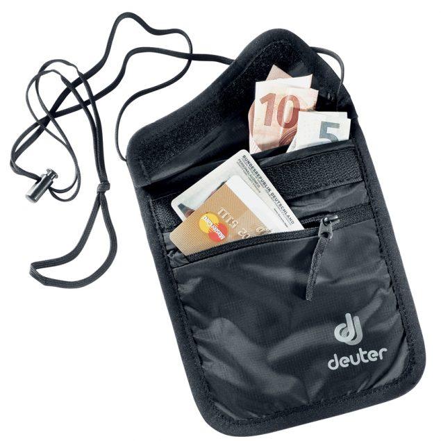 Deuter Security Wallet II black (fekete)