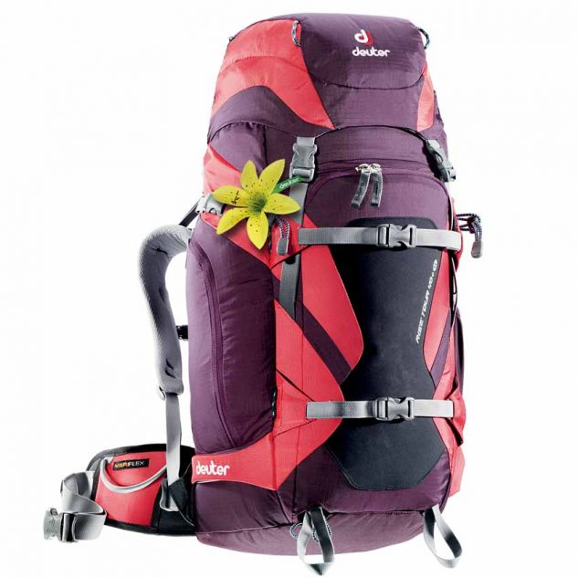 Deuter Rise Tour 40+ SL aubergine-fire (lila-piros)