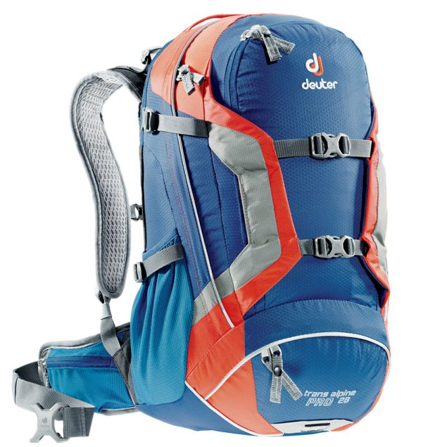 Deuter Trans Alpine Pro 28 steel-papaya