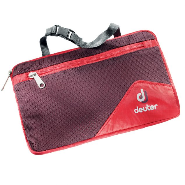 Deuter Wash Bag Lite II fire-aubergine (piros-lila)