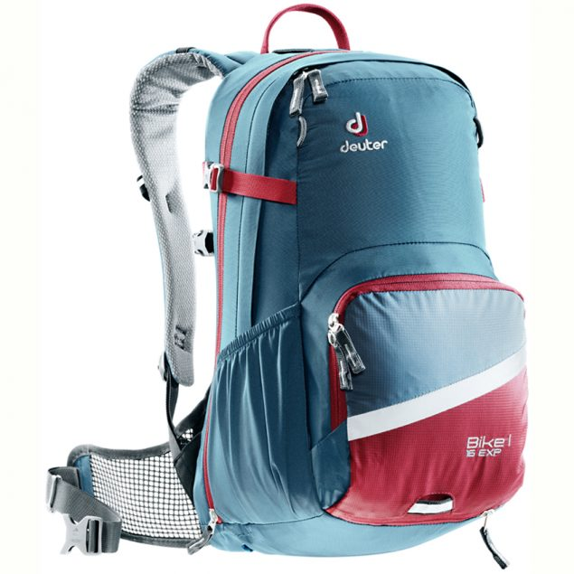 Deuter Bike I Air EXP 16 arctic-cranberry